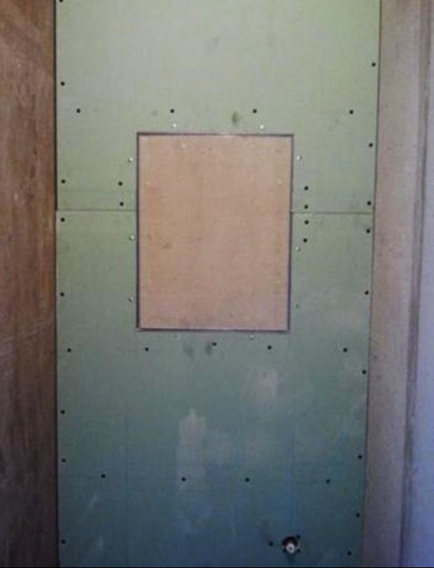 Установка люка под плитку
